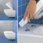 softclosing quickrelease, Villeroy & Boch